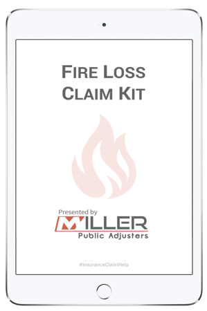 Fire Loss Claim Kit