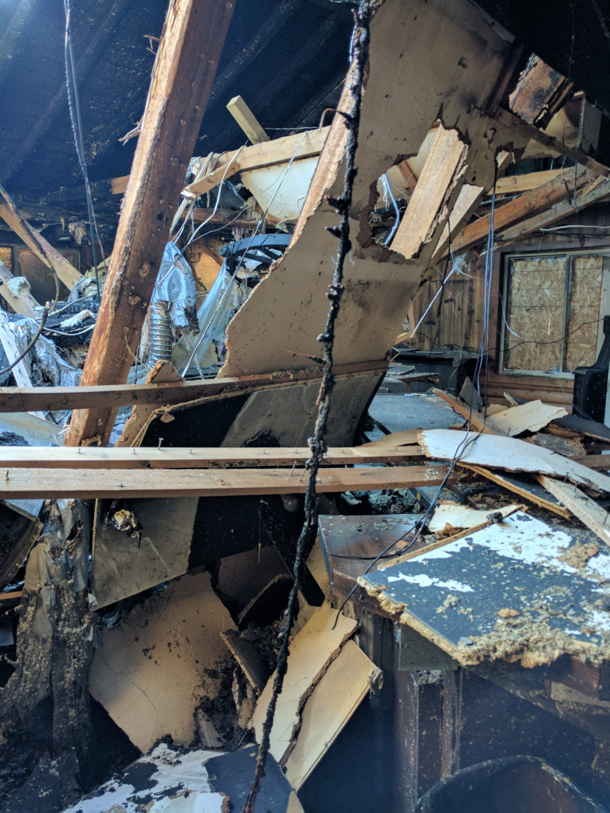 Debbie G. Fire Damage